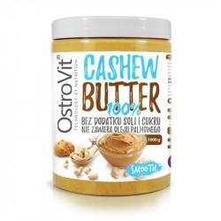 OSTROVIT 100% Cashew Butter 1000g MASŁO Z ORZECHÓW NERKOWCA