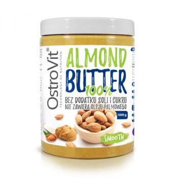OSTROVIT 100% Almond Butter 1000g MASŁO MIGDAŁOWE