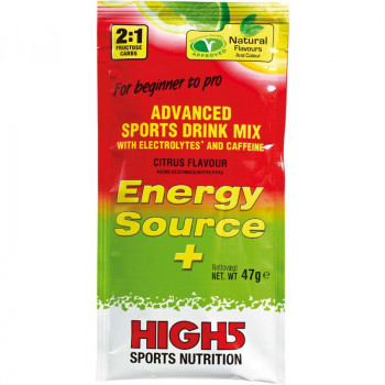 HIGH5 Energy Source + 47g NAPOJ IZOTONICZNY Z KOFEINA