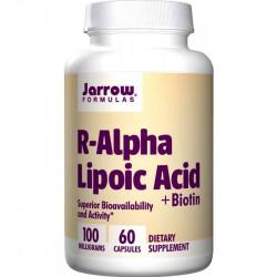JARROW FORMULAS R-Alpha Lipoic Acid+Biotin 60caps