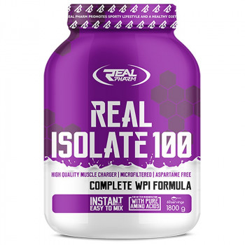 Real Pharm Real Isolate 100 1800g SŁÓJ