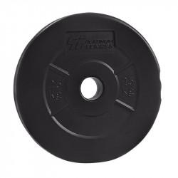 PLATINUM FITNESS Obciążenie Bitumiczne Czarne P0009 29mm/1,25kg