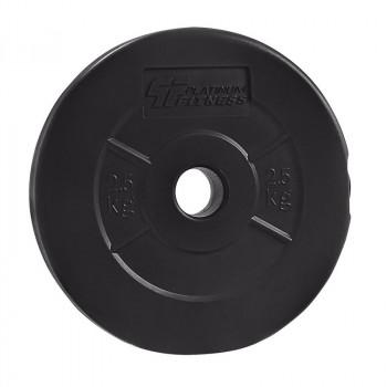 PLATINUM FITNESS Obciążenie Bitumiczne Czarne P0010 29mm/2,5kg