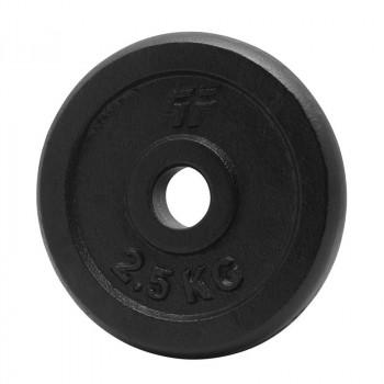 PLATINUM FITNESS Obciążenie Żeliwne Czarne P0030 29mm/2,5kg