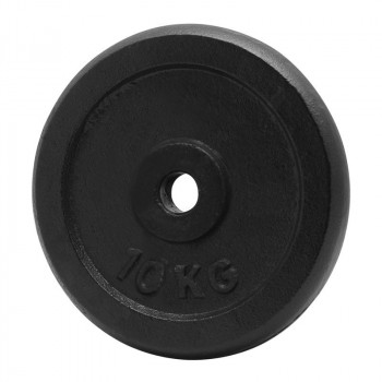 PLATINUM FITNESS Obciążenie Żeliwne Czarne P0032 29mm/10kg
