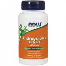NOW Andrographis Extract 400mg 90vegcaps