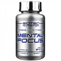 SCITEC Mental Focus 90caps