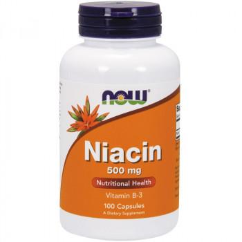 NOW Niacin 500mg 100caps