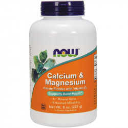 NOW Calcium&Magnesium 227g