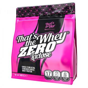 SportDefinition That's The Whey Zero Lactose 500g