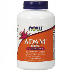 NOW ADAM Multi-Vitamin for Men Tablets 60tabs