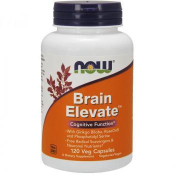 NOW Brain Elevate 120vegcaps