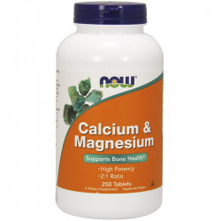 NOW Calcium&Magnesium 250tabs