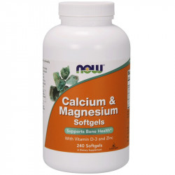 NOW Calcium&Magnesium...