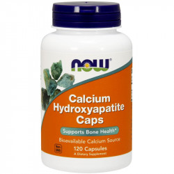 NOW Calcium Hydroxyapatite Caps 120caps