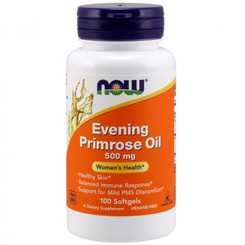 NOW Evening Primrose Oil 500mg 100caps