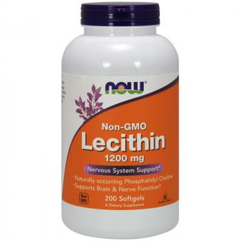NOW Non-Gmo Lecithin 1200mg 400caps