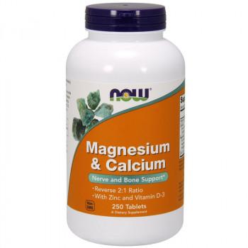 NOW Magnesium&Calcium 250tabs