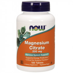 NOW Magnesium Citrate 200mg...