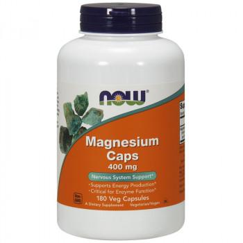 NOW Magnesium Caps 400mg 180vegcaps