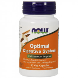 NOW Optimal Digestive System 90vegcaps