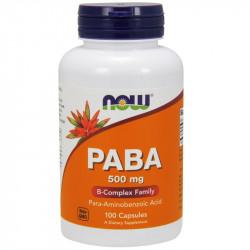 NOW PABA 500mg 100caps