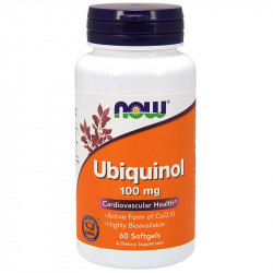 NOW Ubiquinol 100mg 60caps
