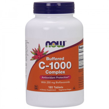 NOW Buffered C-1000 Complex 180tabs