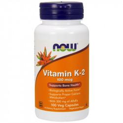 NOW Vitamin K-2 100mcg 100caps