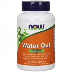 NOW Water Out 100vegcaps
