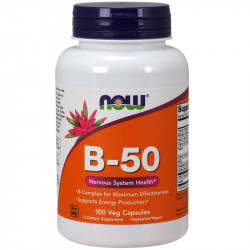 NOW Vitamin B-50 250vegcaps