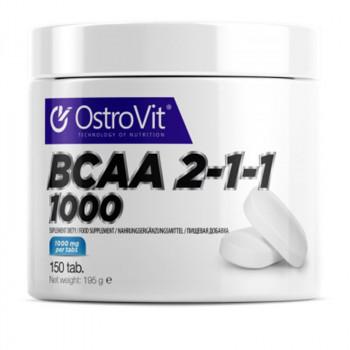 OSTROVIT BCAA 2-1-1 1000 150tabs