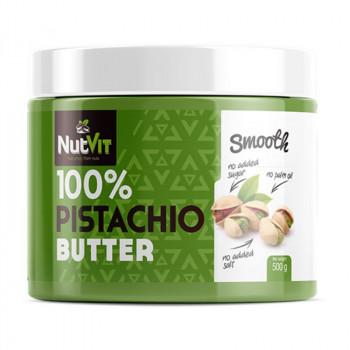 NutVit 100% Pistachio Butter Smooth 500g MASŁO PISTACJOWE