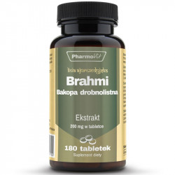 PHARMOVIT Brahmi Bakopa Drobnolistna 4:1 180tabs