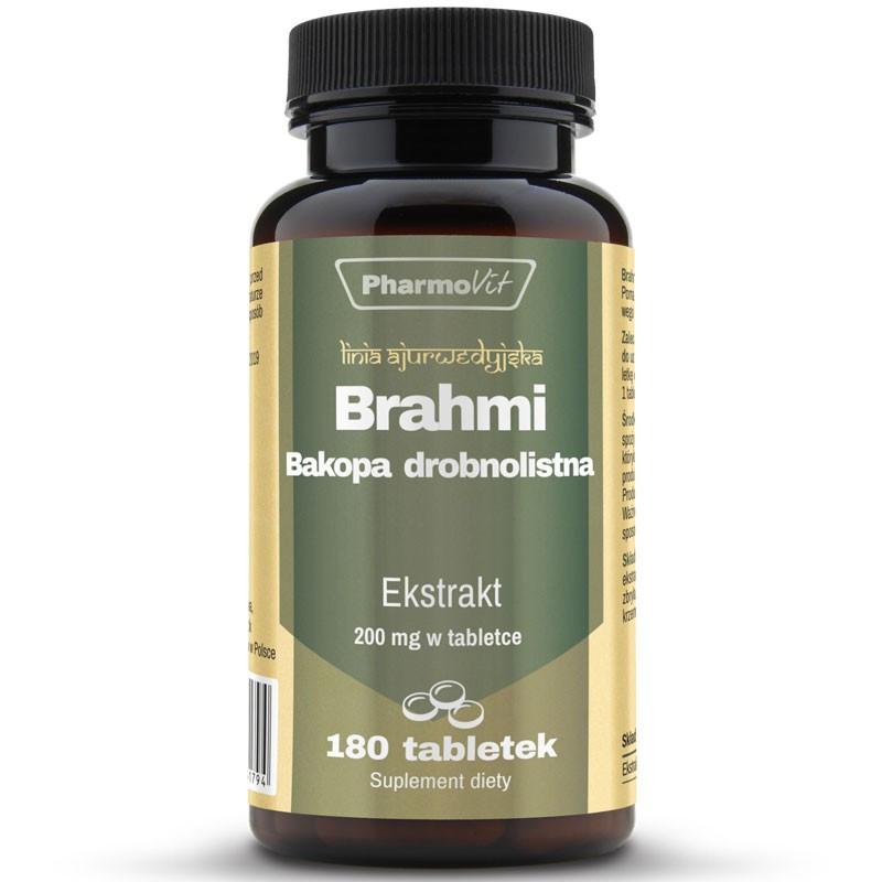 PHARMOVIT Brahmi Bacopa Drobnolistna 4:1 180tabs