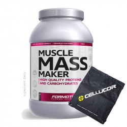 Formotiva Muscle Mass Maker 3000g + Worek Treningowy Cellucor