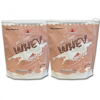 PEAK Delicious Whey Protein 2x1000g