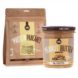 TREC Protein Pancakes 750g + Peanut Butter 350g Nalesniki