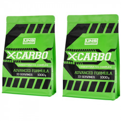 UNS X-Carbo 2x1000g