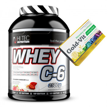 HI TEC Whey C-6 2500g C6 LIMITED VIP EDITION + Olimp Gold Vit 30tab