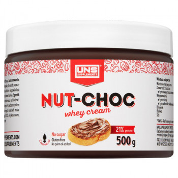 UNS Nut-Choc Whey Cream 500g