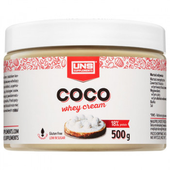 UNS Coco Whey Cream 500g