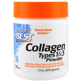 DOCTOR'S BEST Collagen Types 1&3 Powder 200g