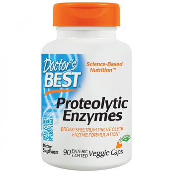 DOCTOR'S BEST Proteolytic Enzymes 90caps