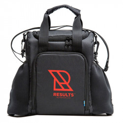 RESULTS Meal Prep Bag Black Torba Na Zywnosc