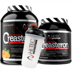 HI TEC Creasteron 2640g + 1408g + 92caps + HI TEC Shaker 600ml GRATIS!