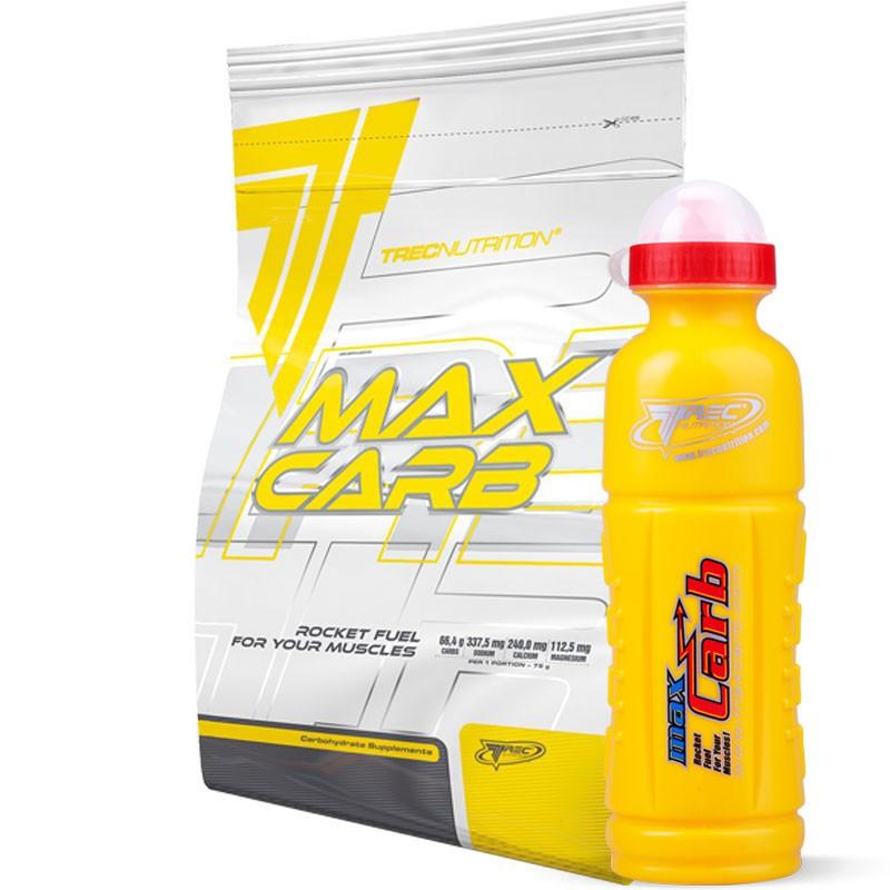 TREC Max Carb 1000g + Trec Bidon GRATIS!