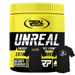 Real Pharm Unreal 306g + T-Shirt GRATIS!