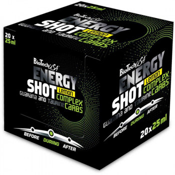 Biotech USA Energy Shot 20x25ml