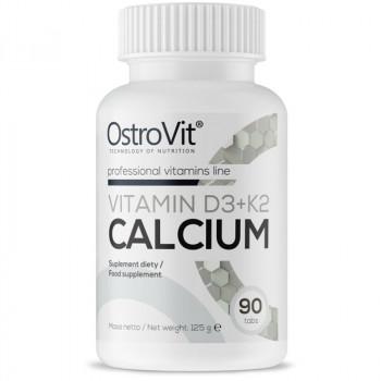 OSTROVIT Vitamin D3+K2 Calcium 90tabs